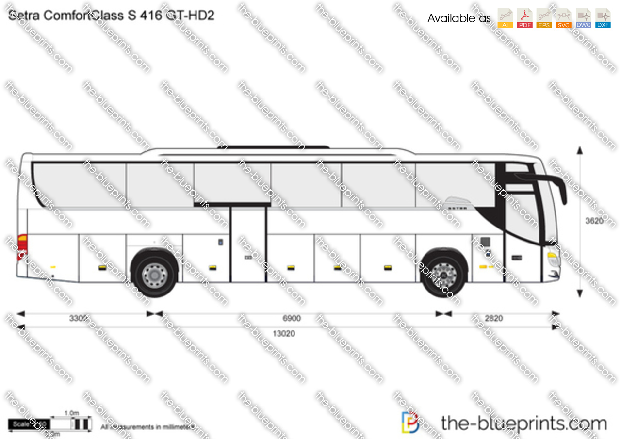 Setra ComfortClass S 416 GT-HD2