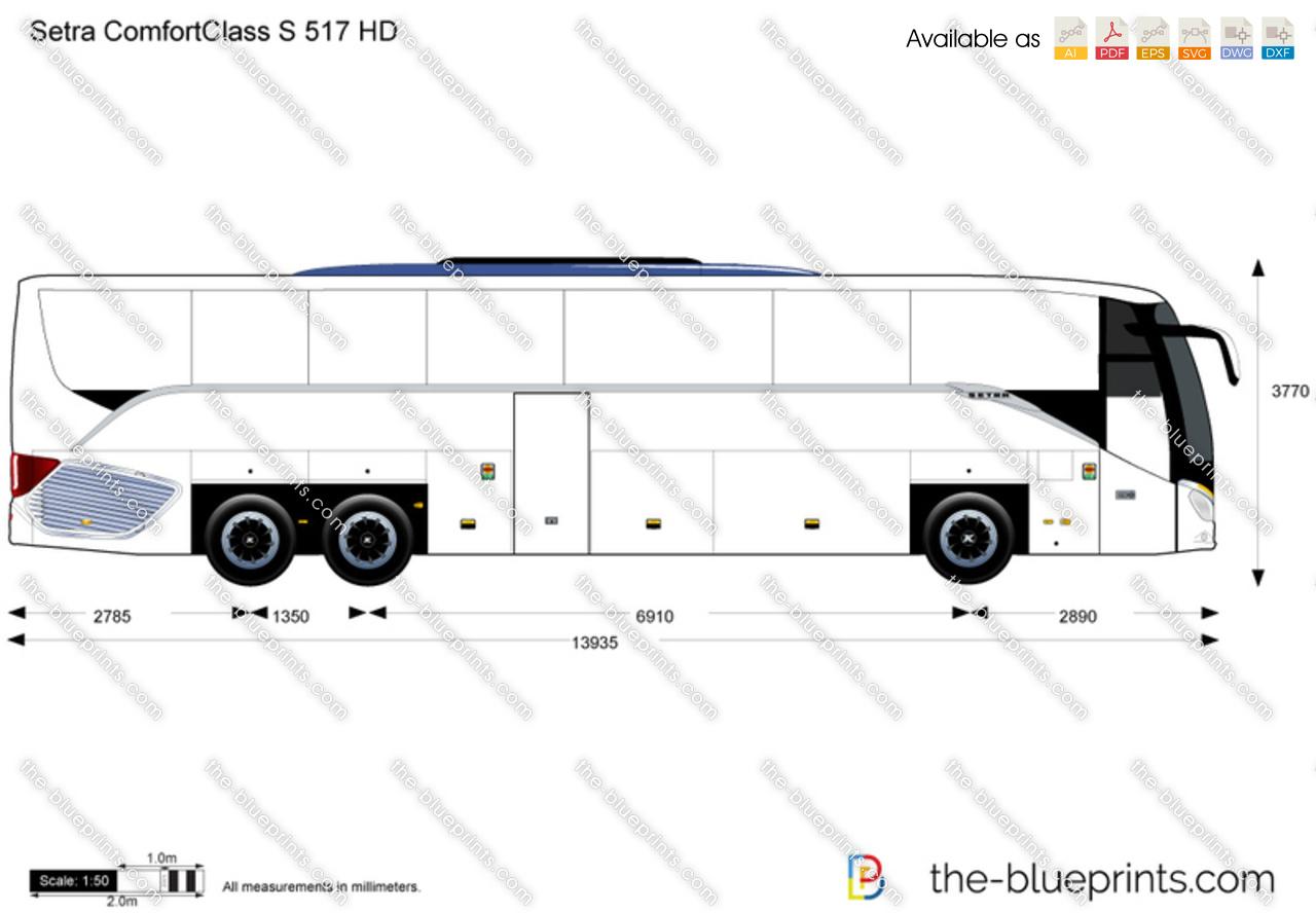 Setra ComfortClass S 517 HD