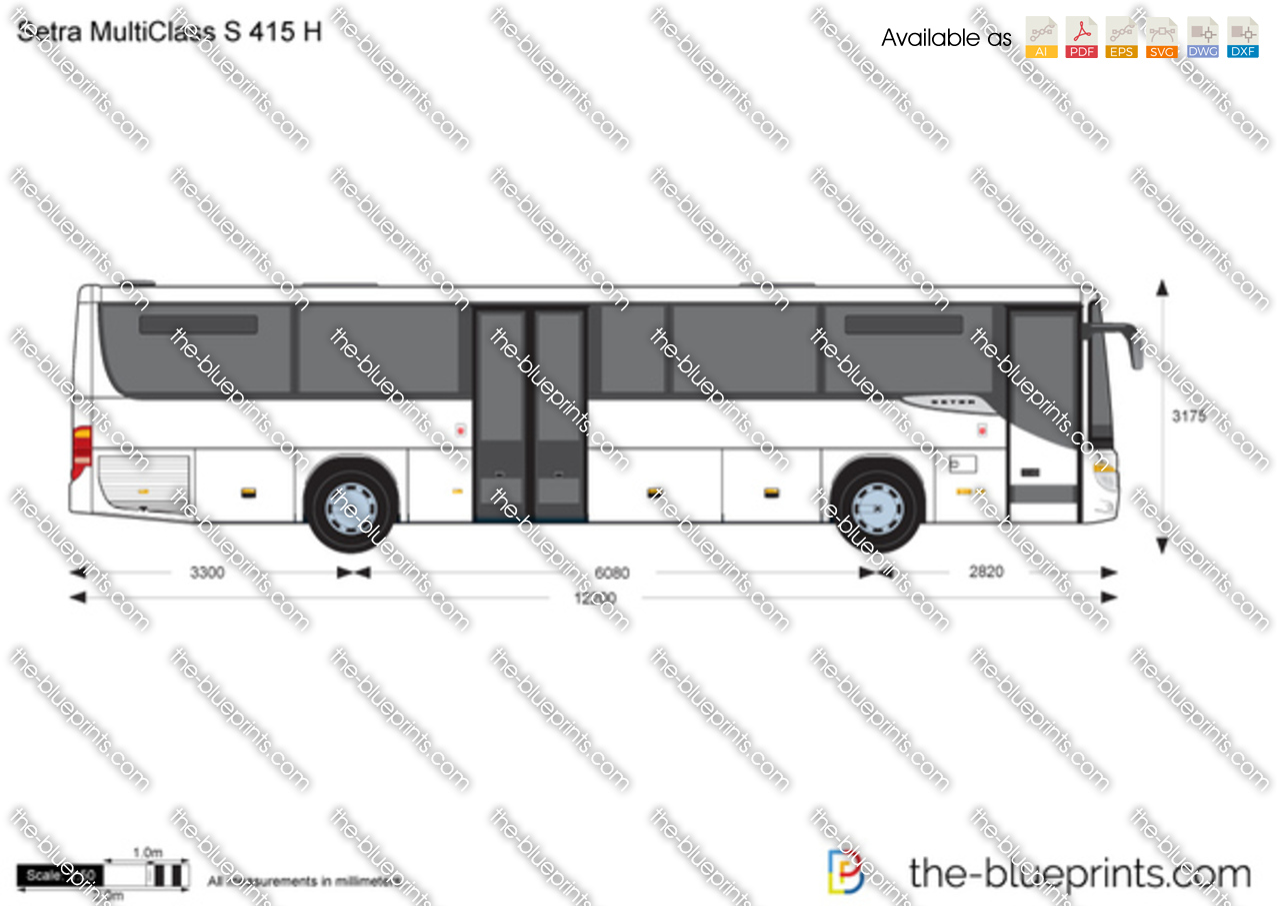 Setra MultiClass S 415 H