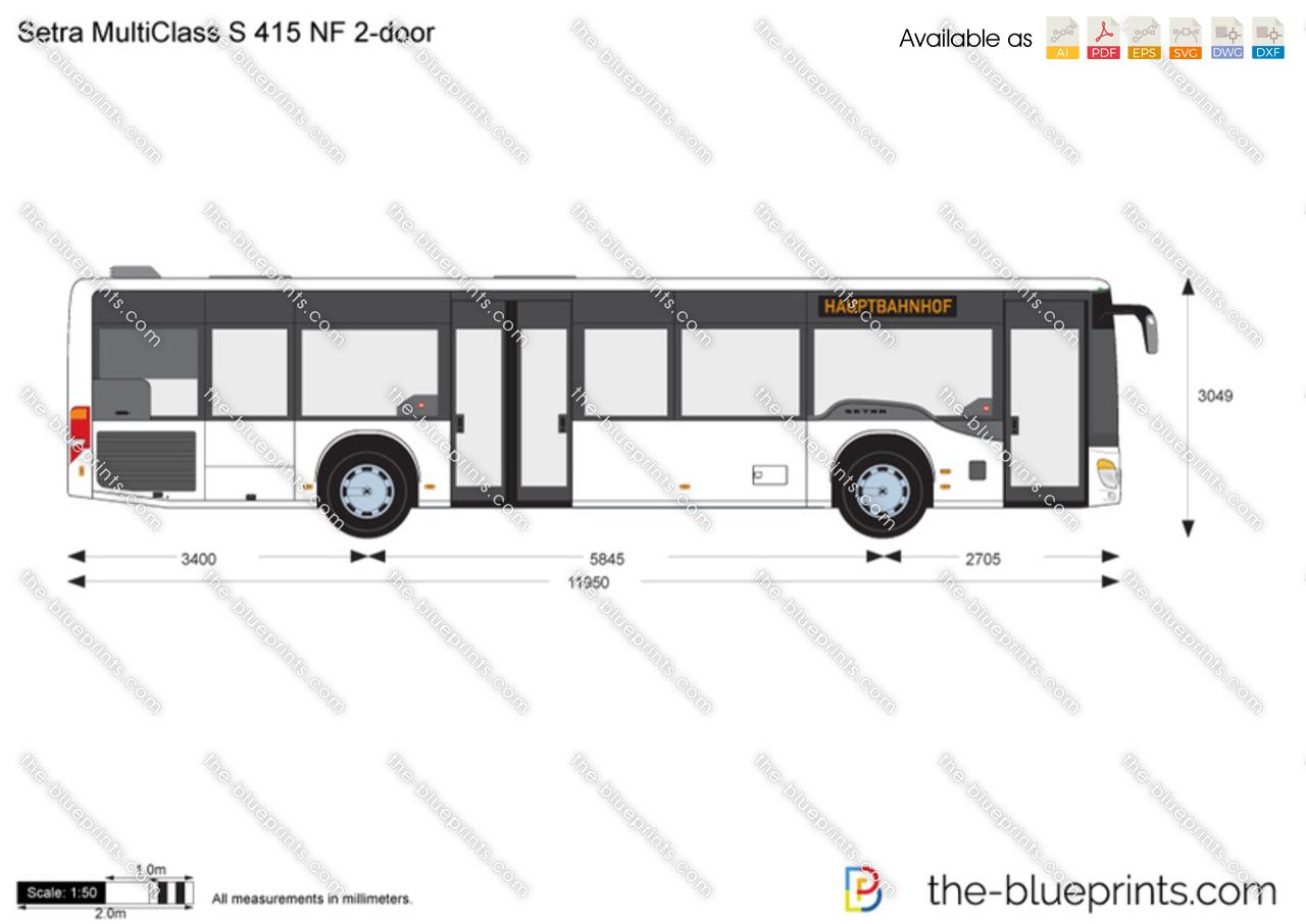 Setra MultiClass S 415 NF 2-door