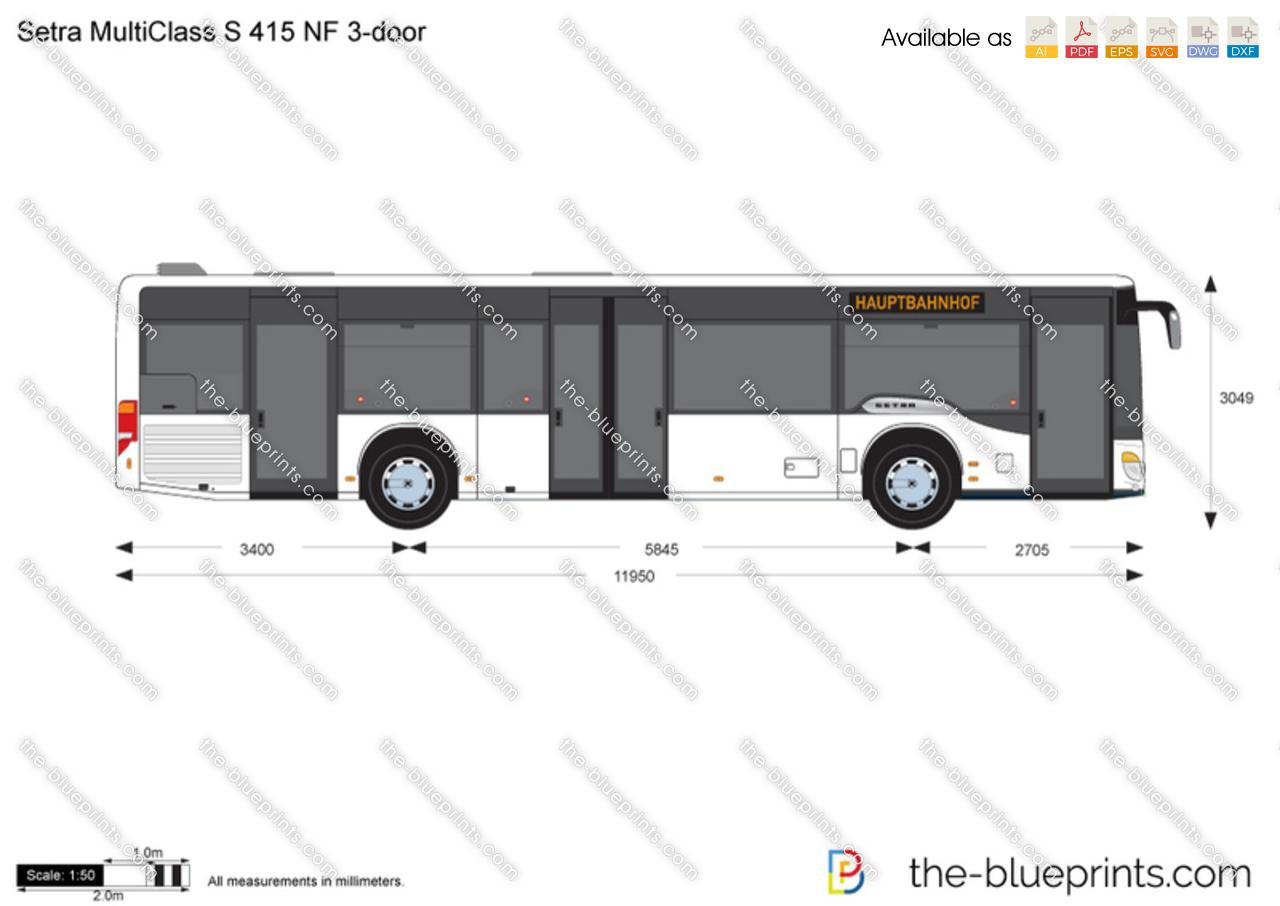 Setra MultiClass S 415 NF 3-door