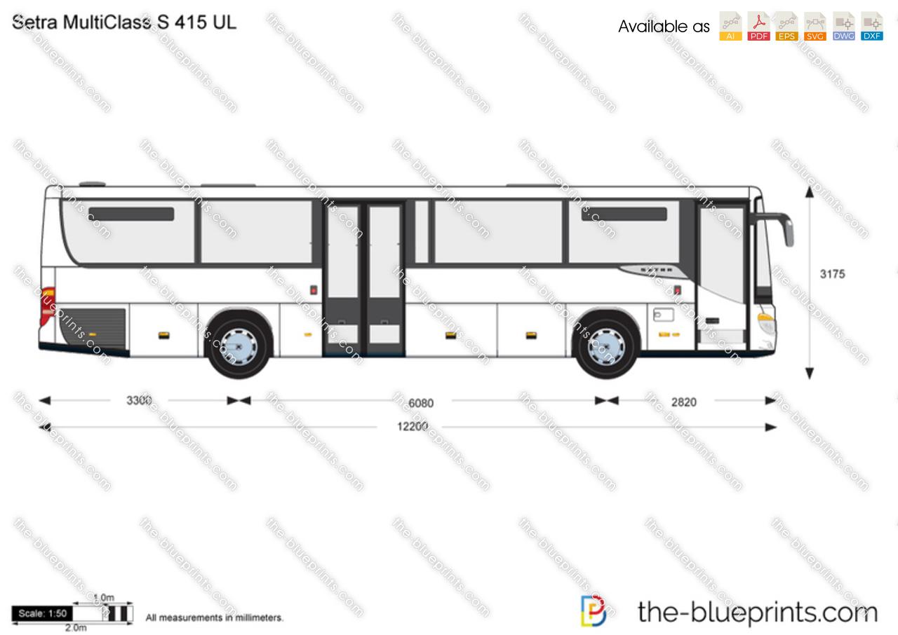 Setra MultiClass S 415 UL