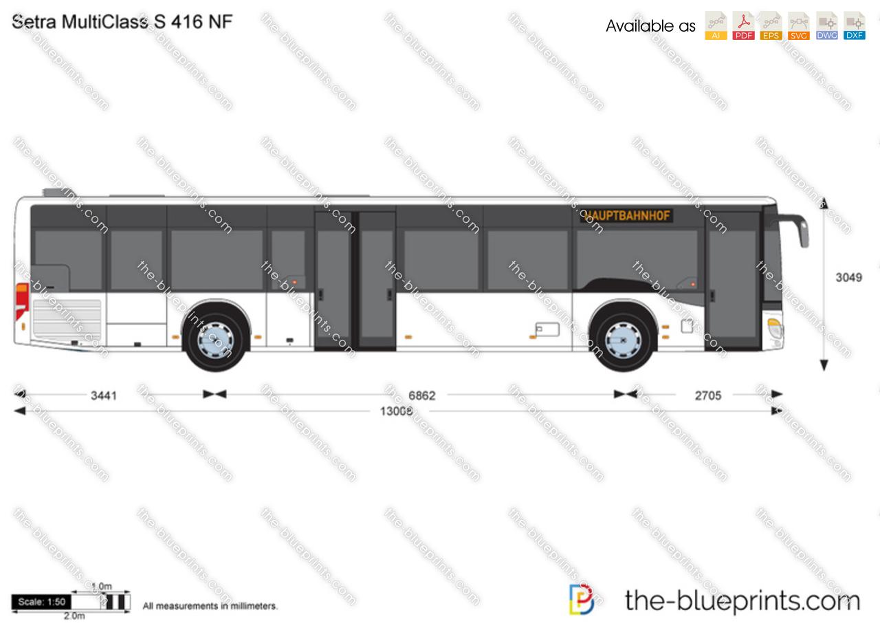 Setra MultiClass S 416 NF