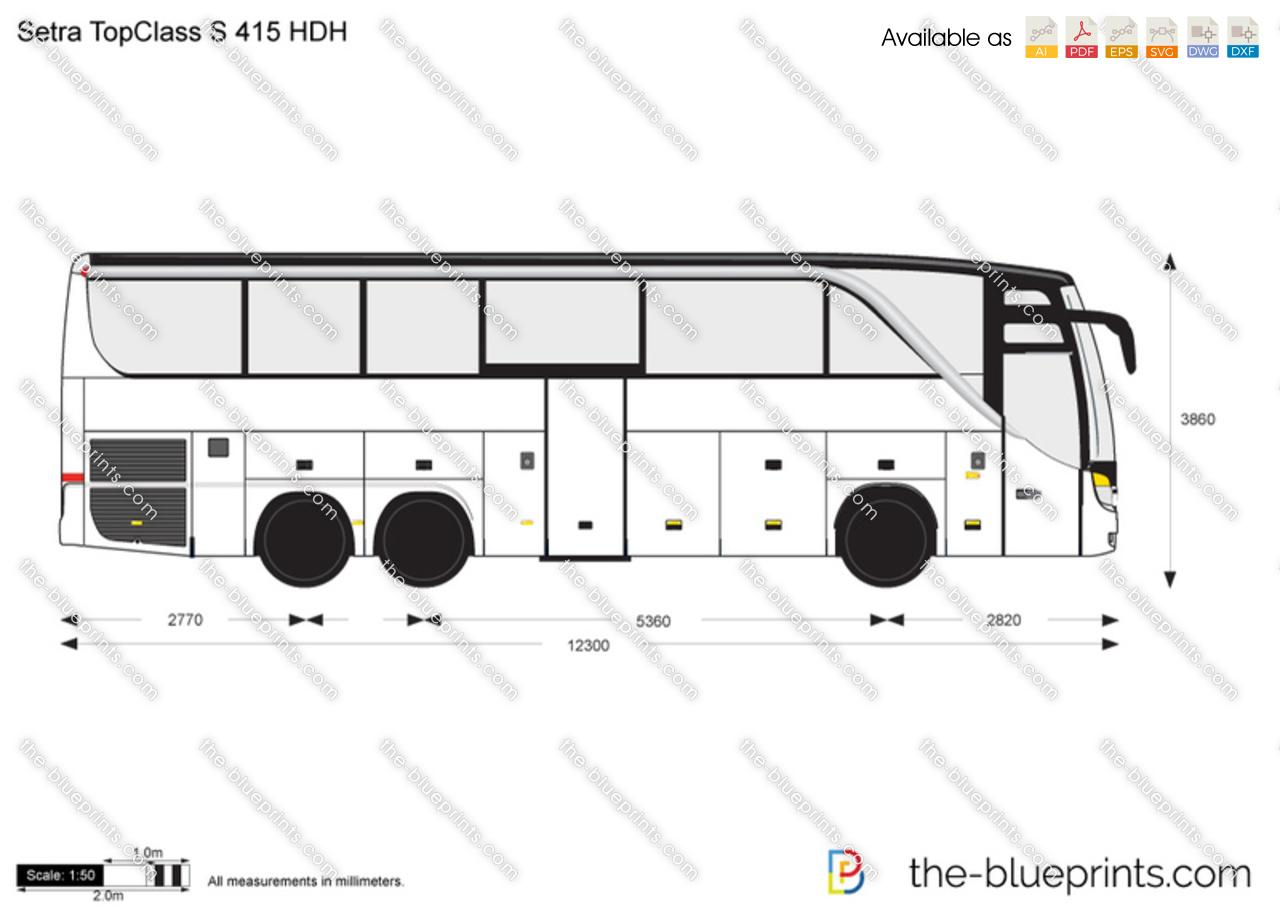 Setra TopClass S 415 HDH