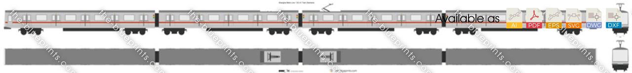 Shanghai Metro Line 1 DC-01 Train (Siemens)