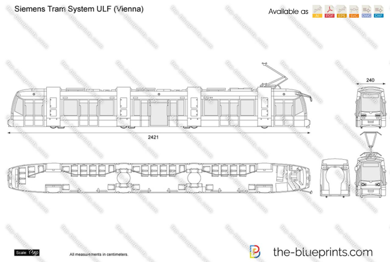 Siemens Tram System ULF (Vienna)