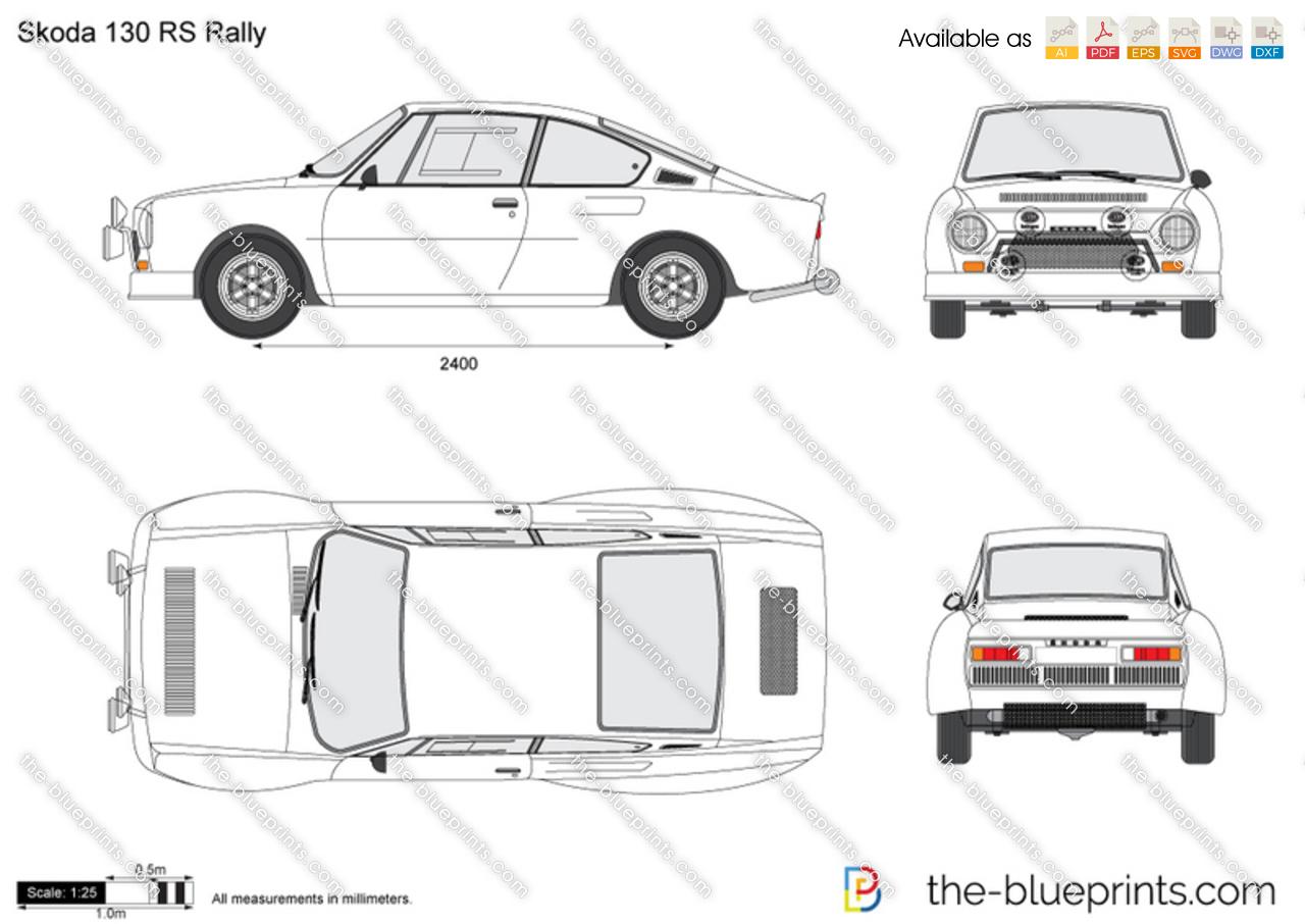 Skoda 130 RS Rally