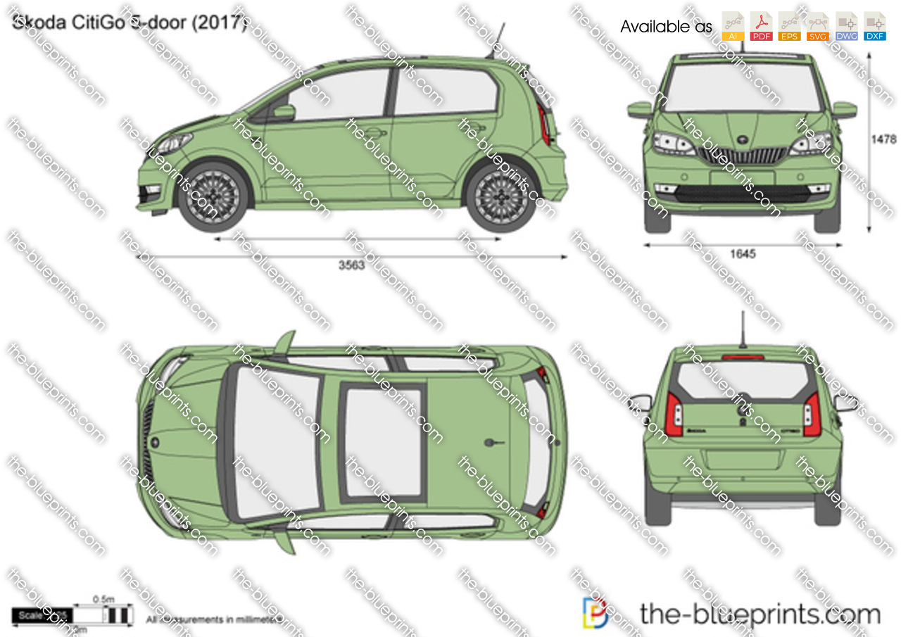 Skoda CitiGo 5-door 2018