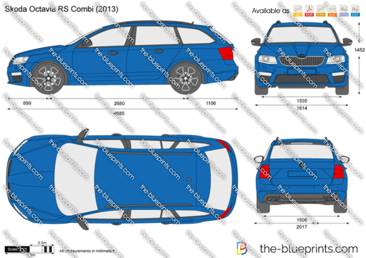 Skoda Octavia RS Combi 2014