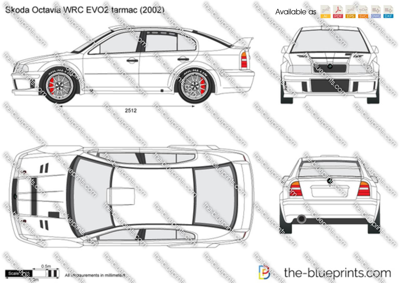 Skoda Octavia WRC EVO2 tarmac