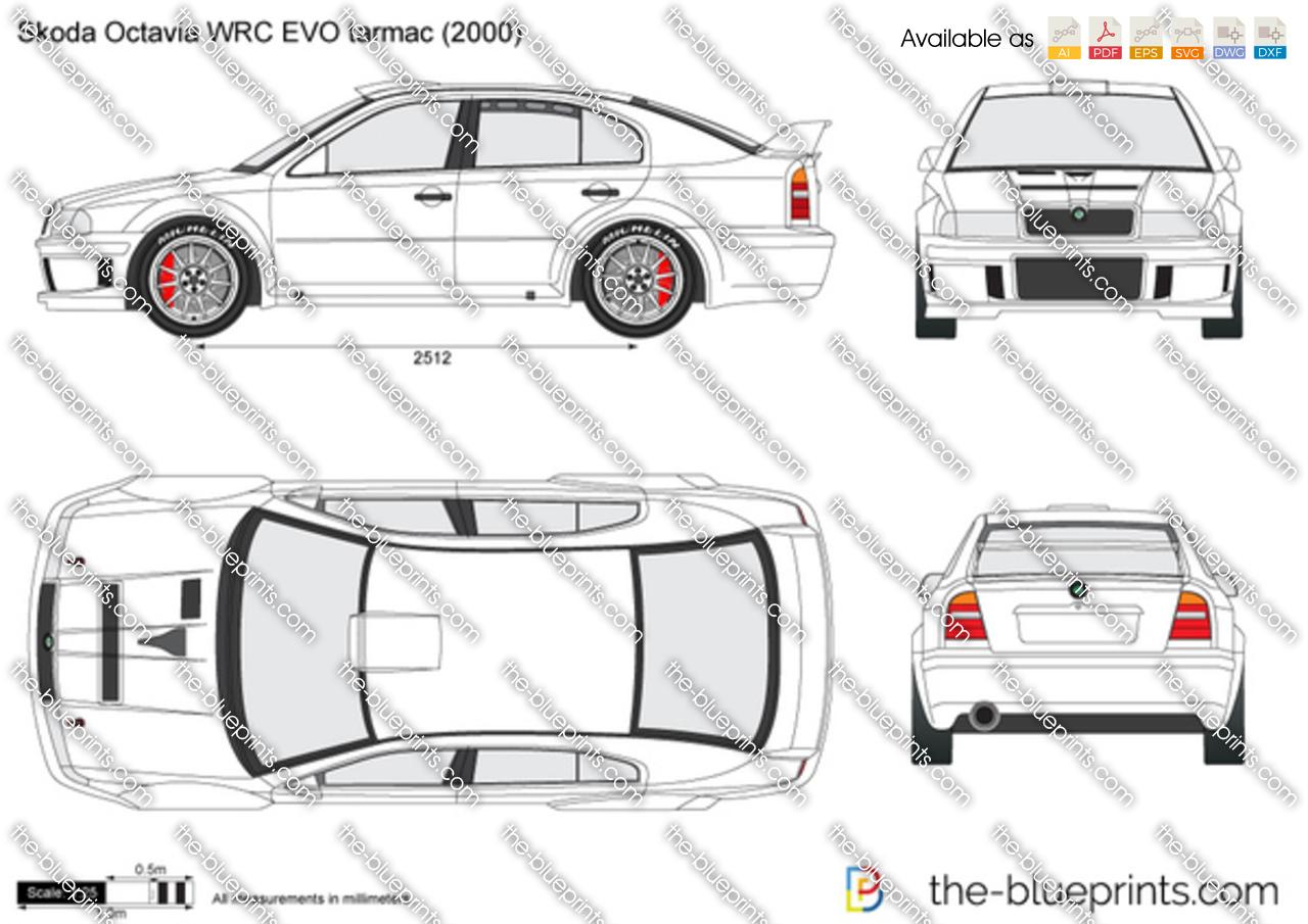 Skoda Octavia WRC EVO tarmac
