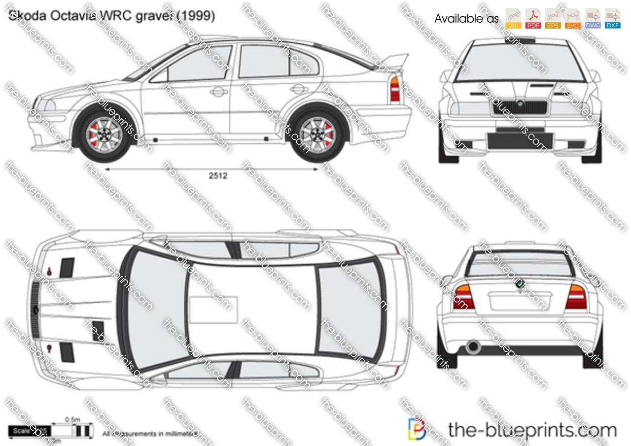 Skoda Octavia WRC gravel