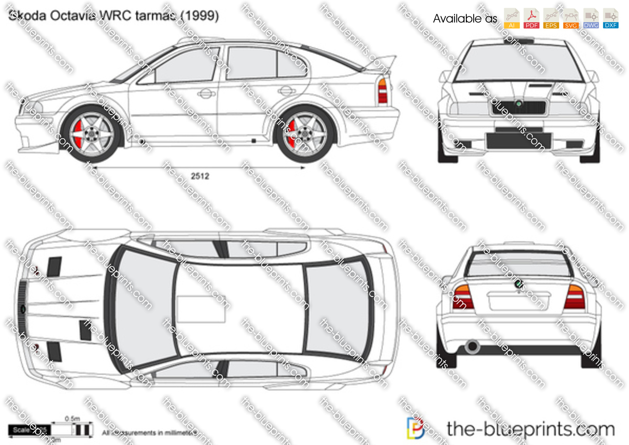 Skoda Octavia WRC tarmac