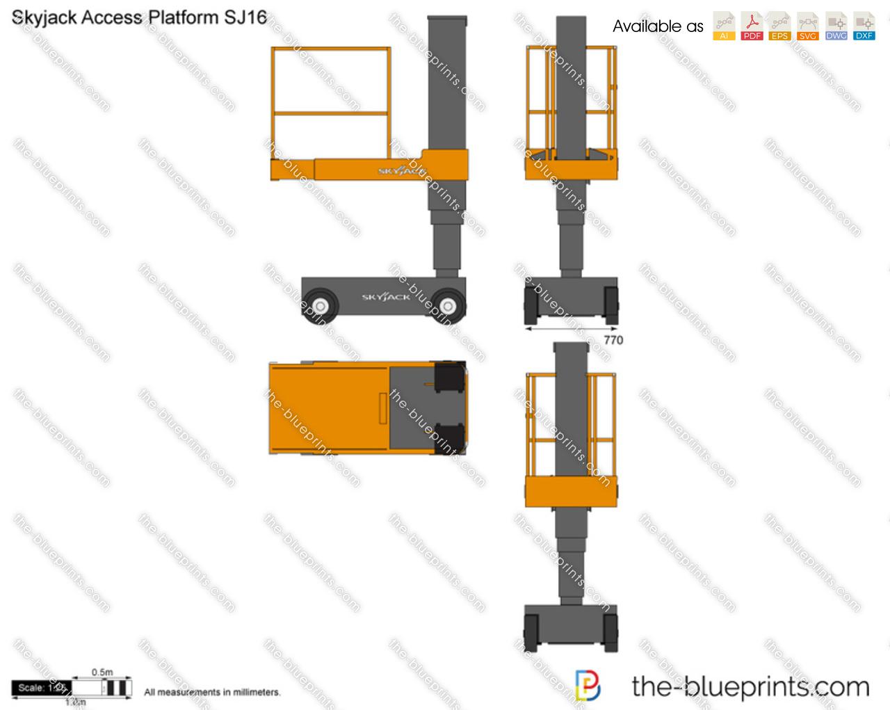 Skyjack Access Platform SJ16
