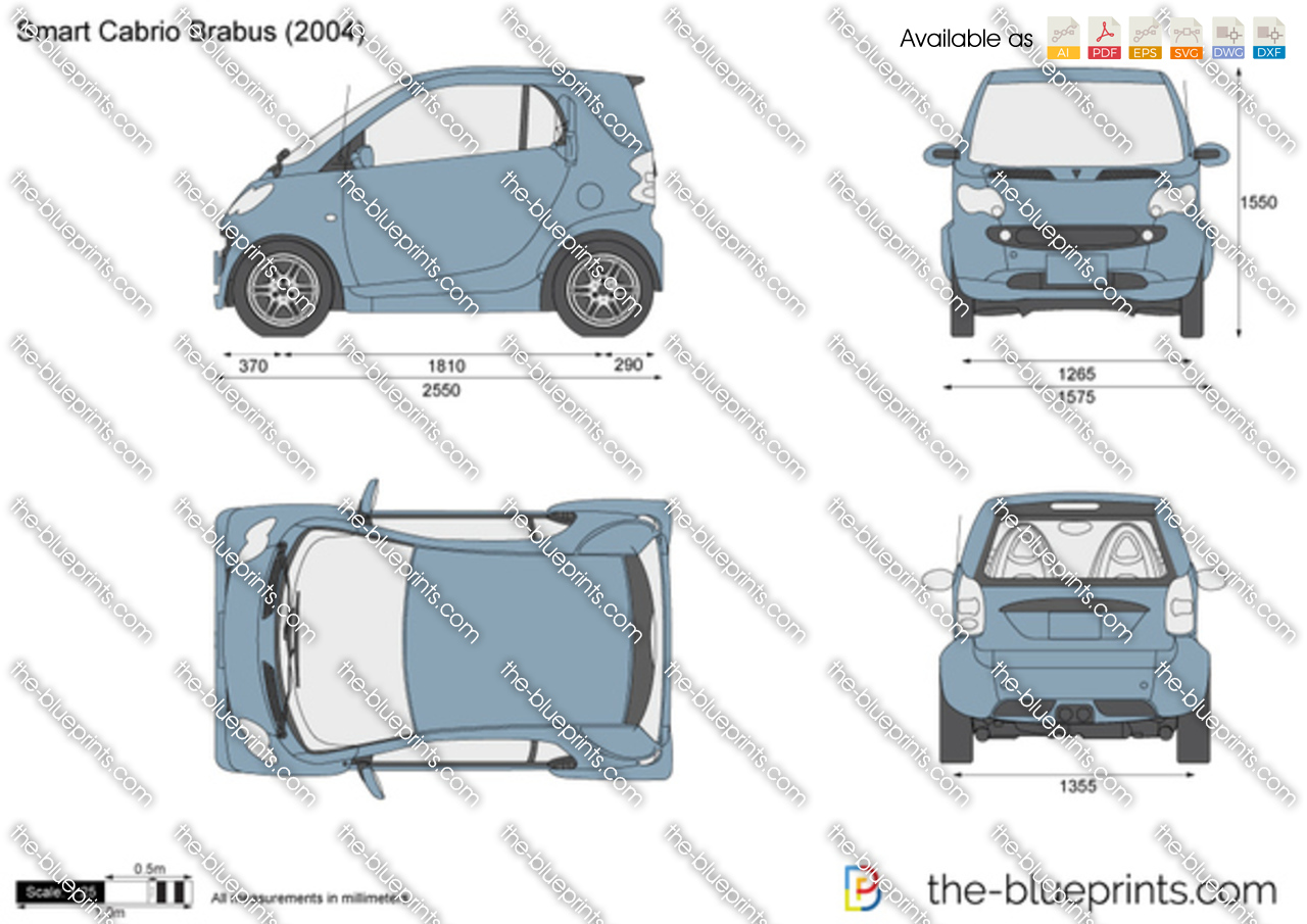 the vector drawing smart cabrio brabus. Black Bedroom Furniture Sets. Home Design Ideas