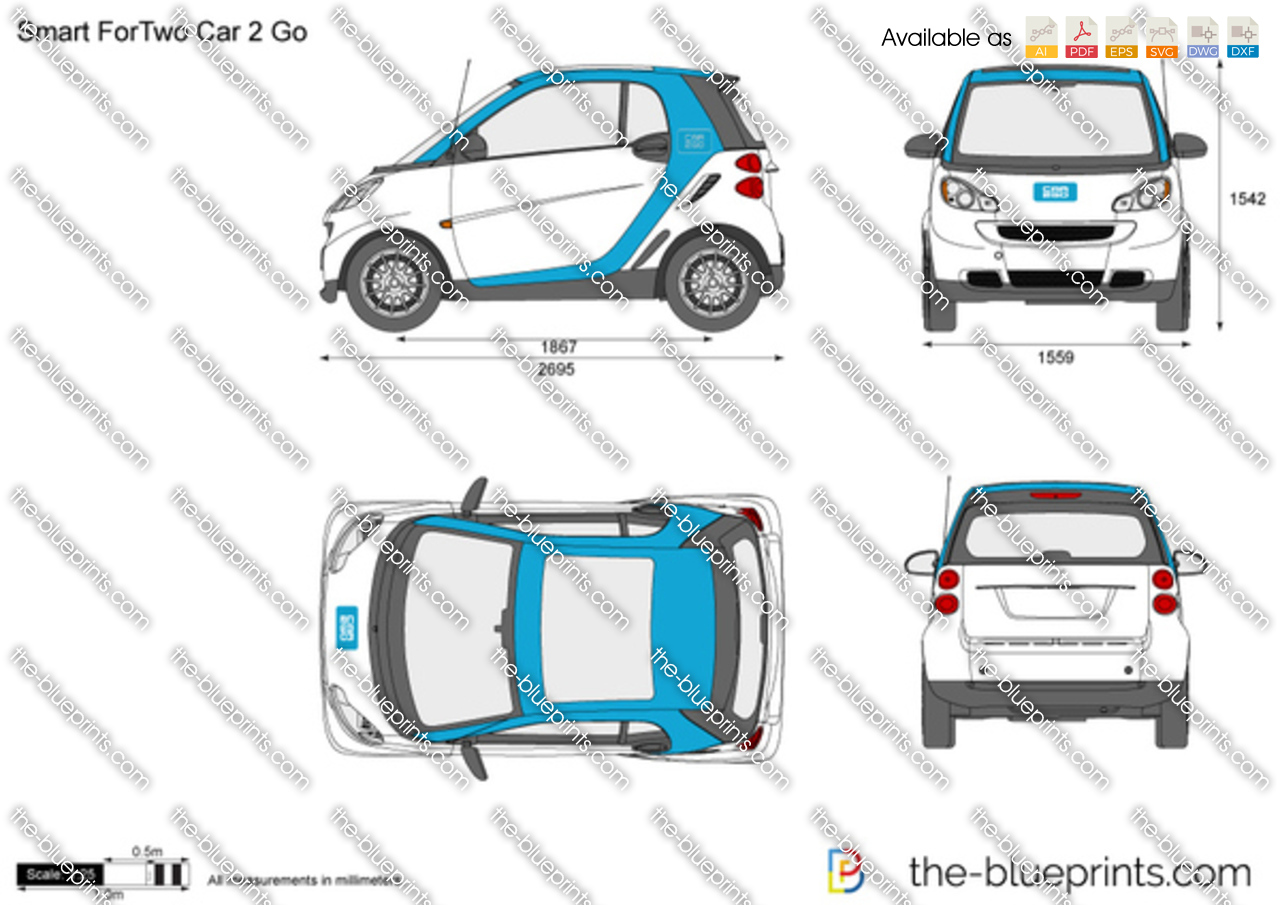 Smart ForTwo Car 2 Go