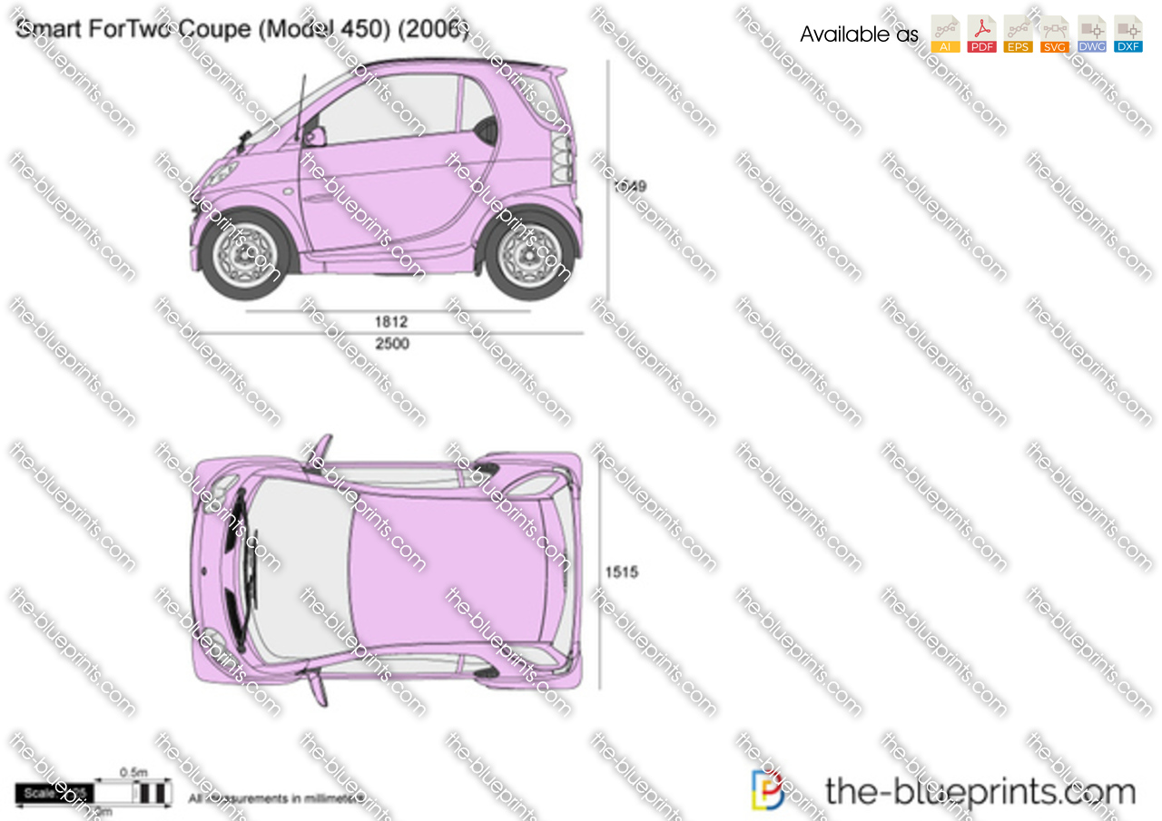 Smart ForTwo Coupe (Model 450) 2000