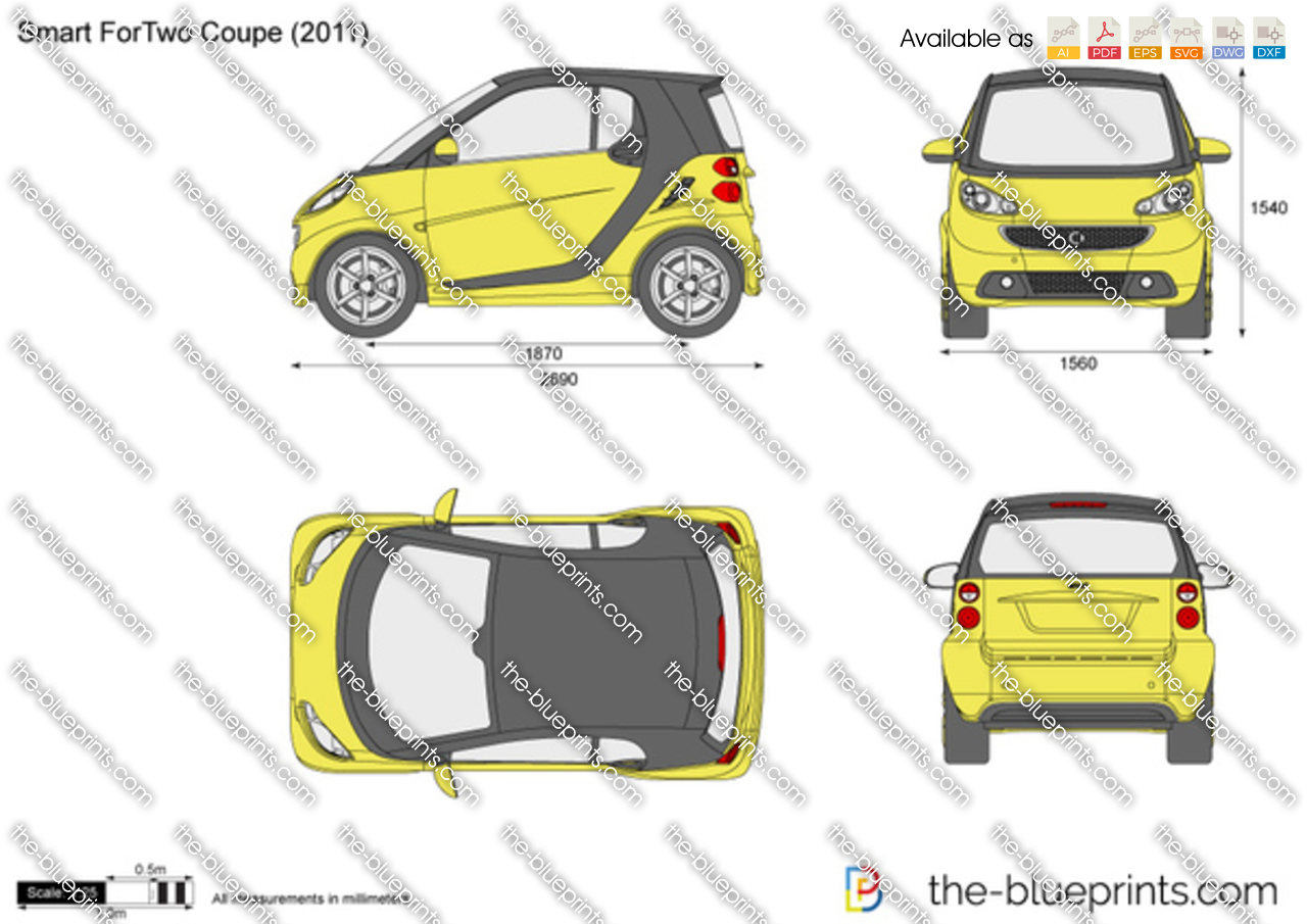 Smart ForTwo Coupe (Model 451) 2014