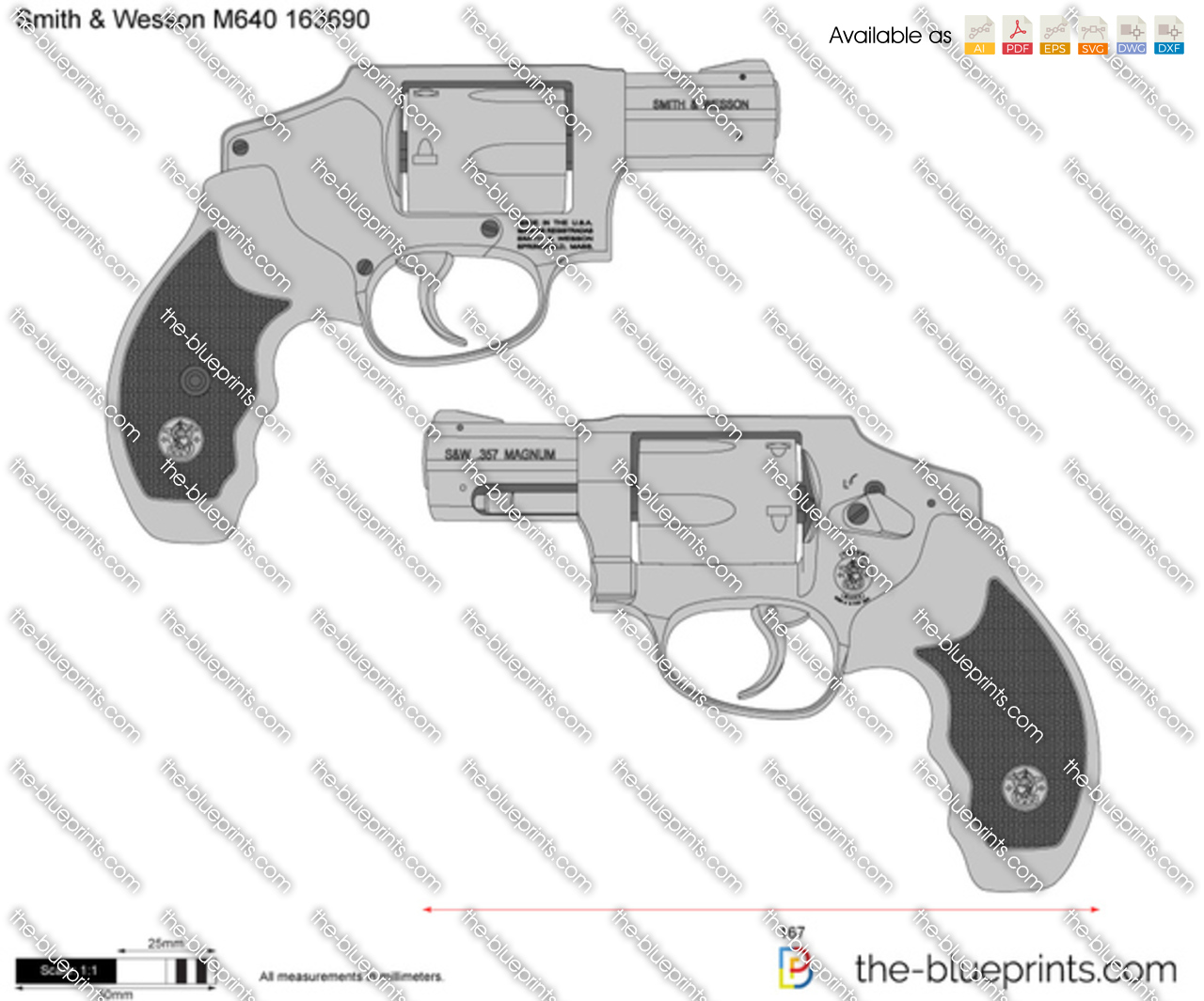 Smith & Wesson M640 163690