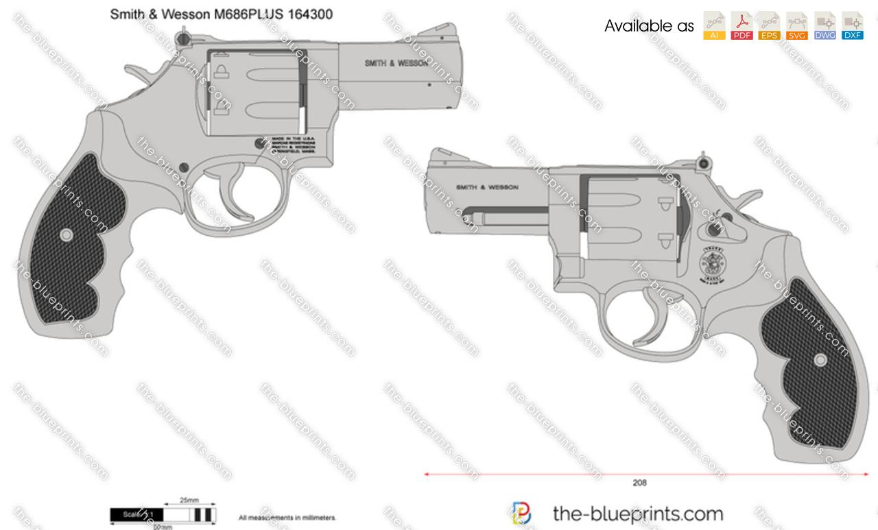 Smith & Wesson M686PLUS 164300