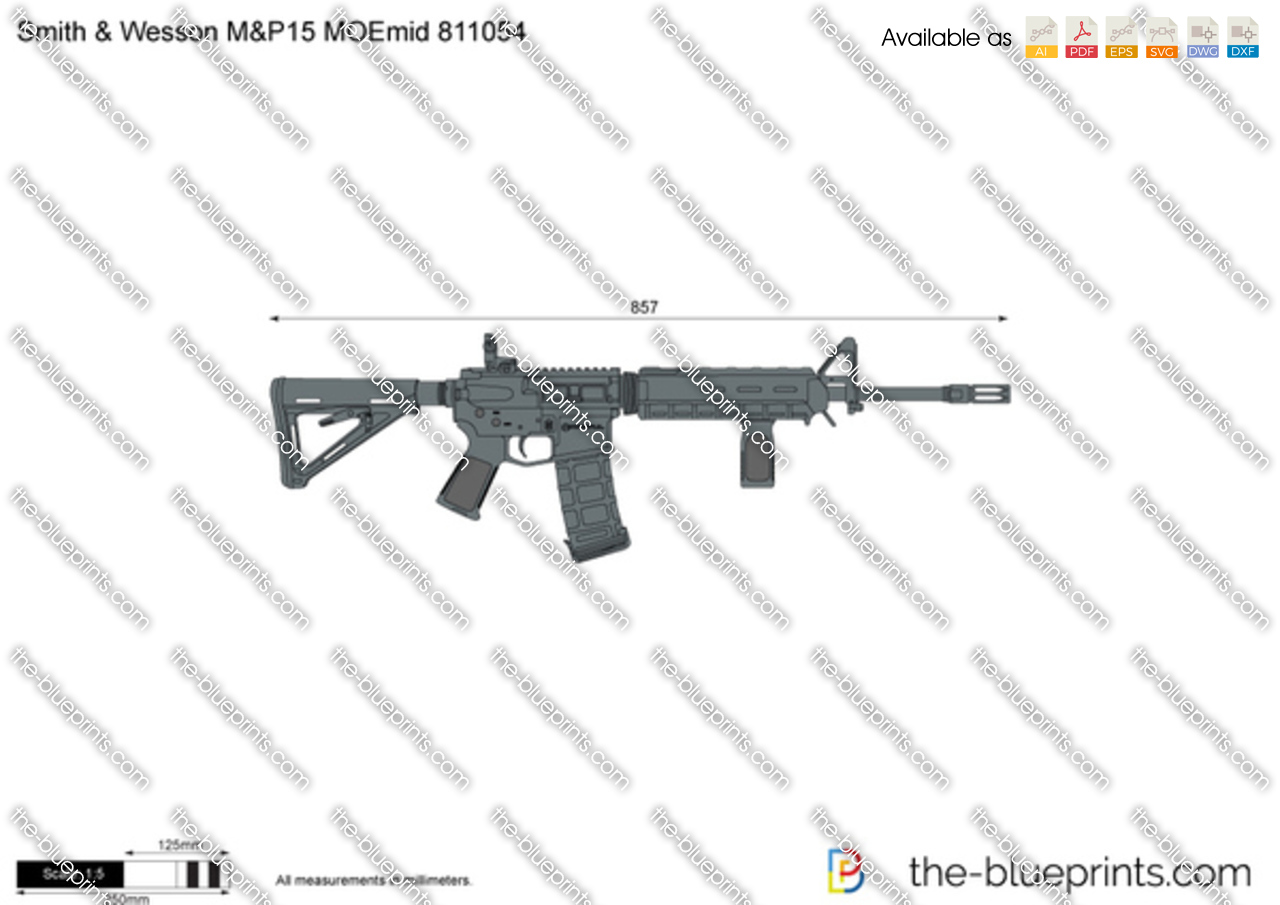 Smith & Wesson M&P15 MOEmid 811054