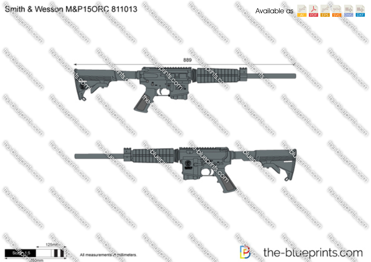 Smith & Wesson M&P15ORC 811013