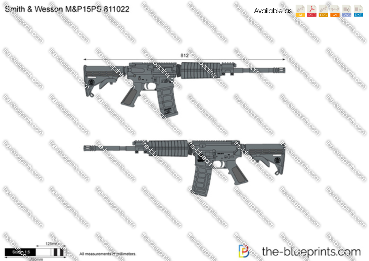Smith & Wesson M&P15PS 811022