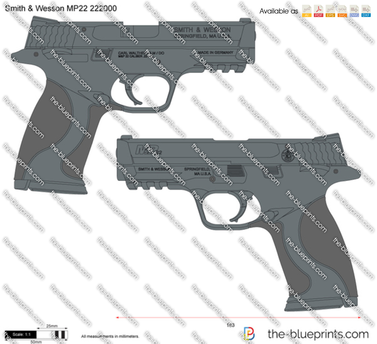 Smith & Wesson MP22 222000