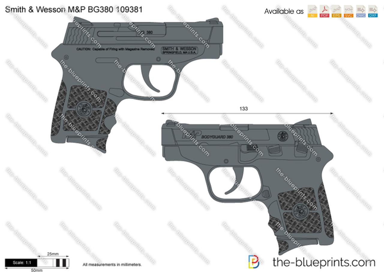 Smith & Wesson M&P BG380 109381