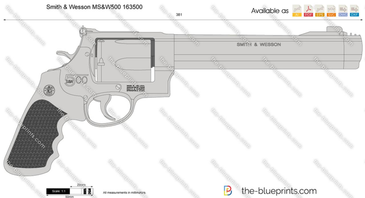 Smith & Wesson MS&W500 163500