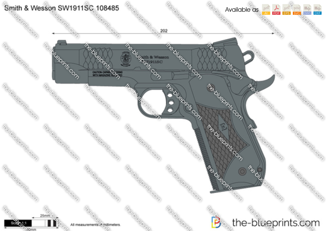 Smith & Wesson SW1911SC 108485