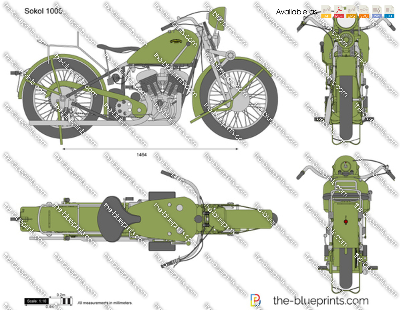 Sokol 1000 1934