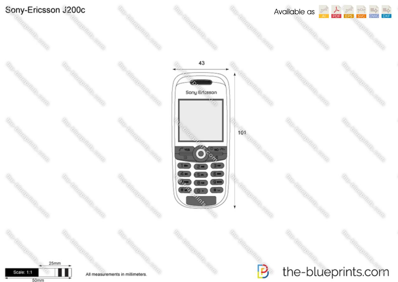 Sony-Ericsson J200c