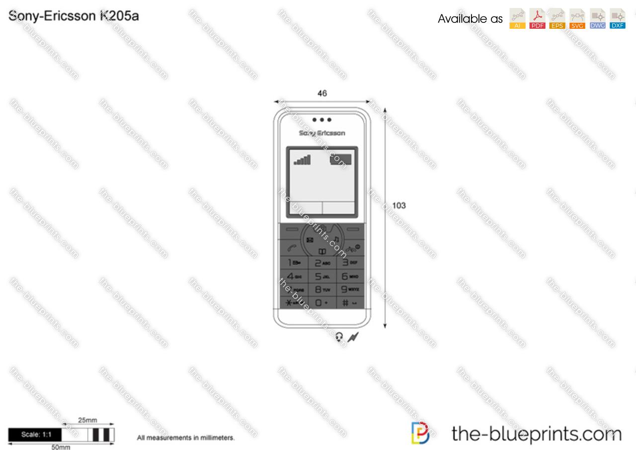 Sony-Ericsson K205a
