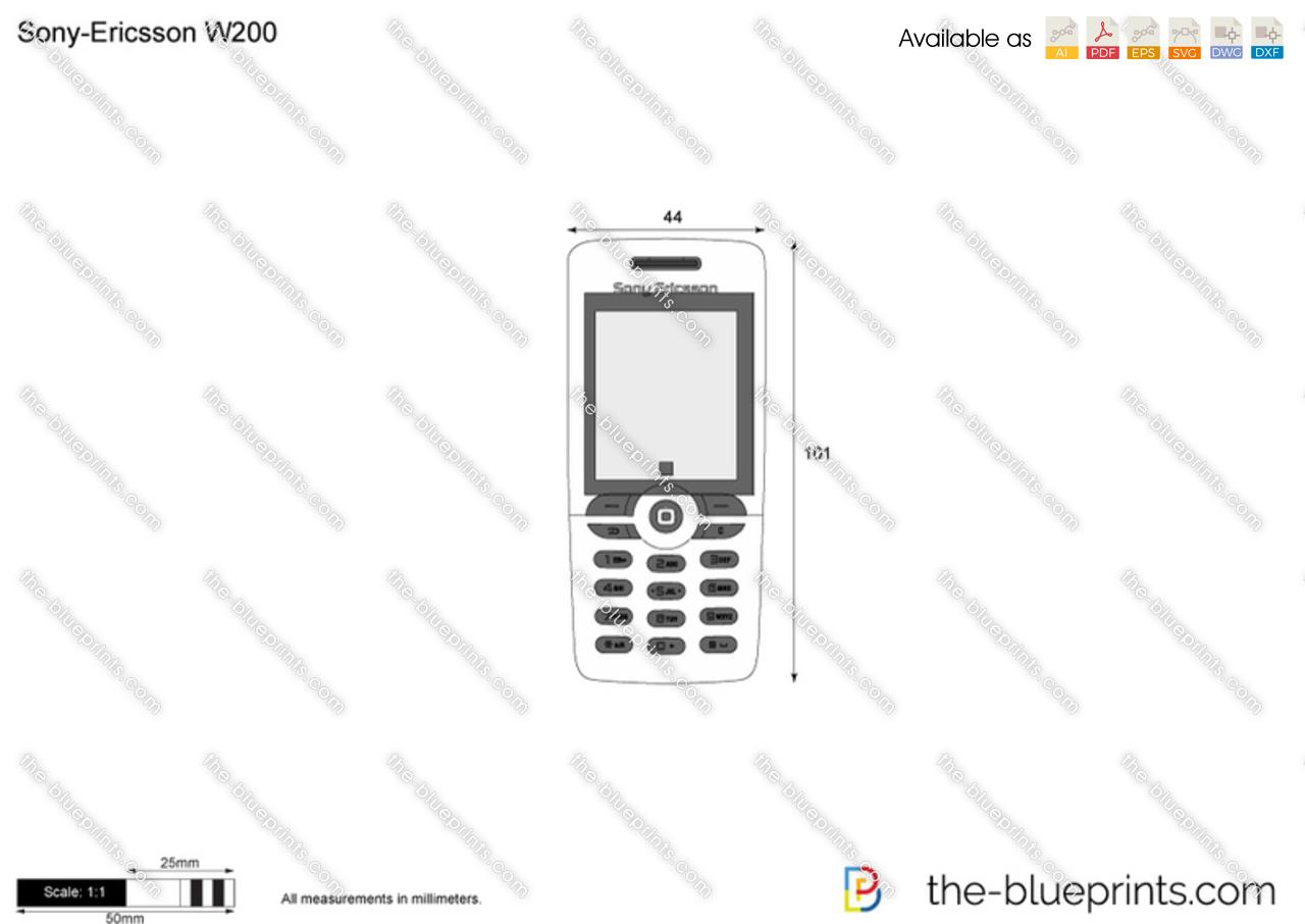 Sony-Ericsson W200
