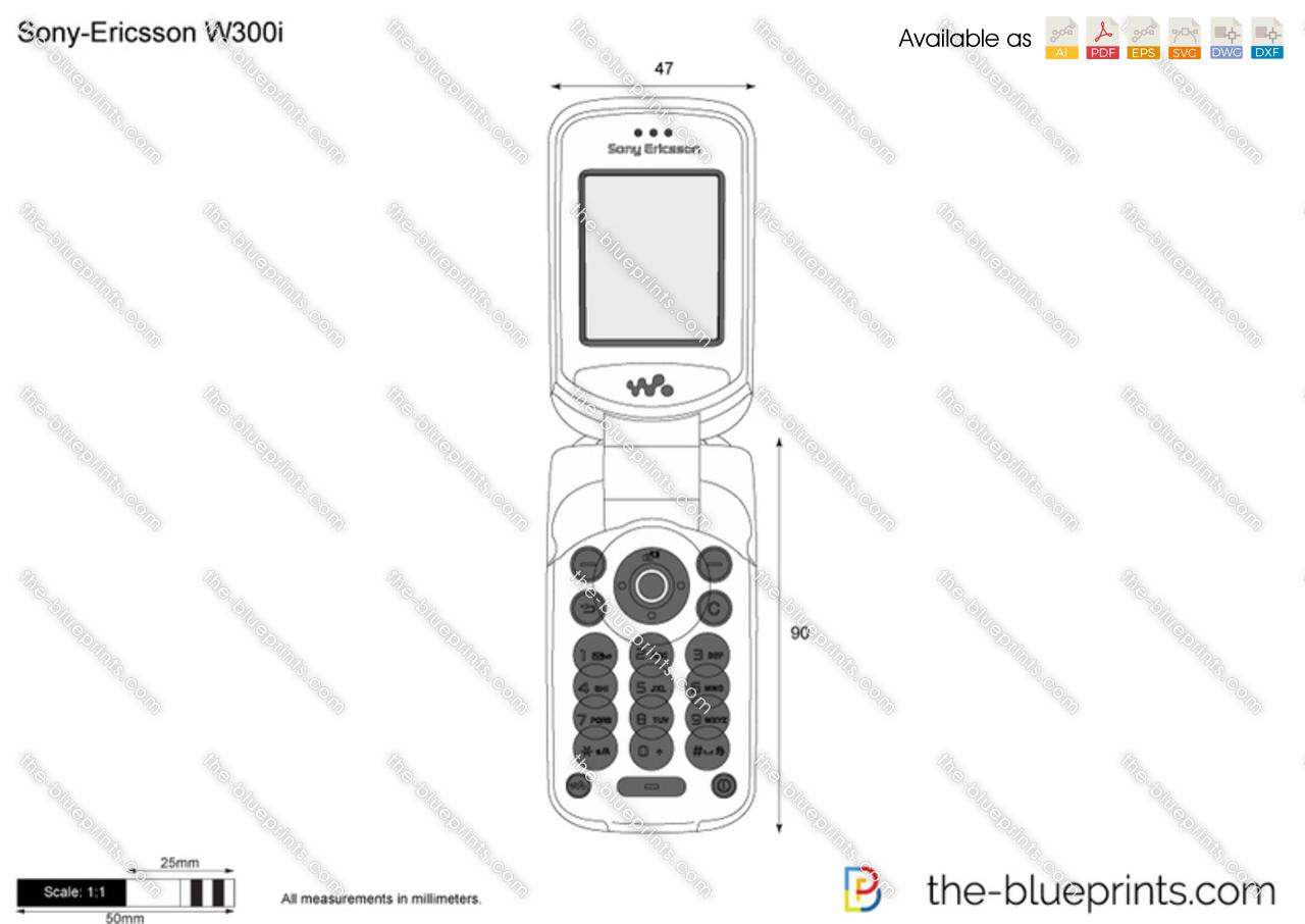 Sony-Ericsson W300i