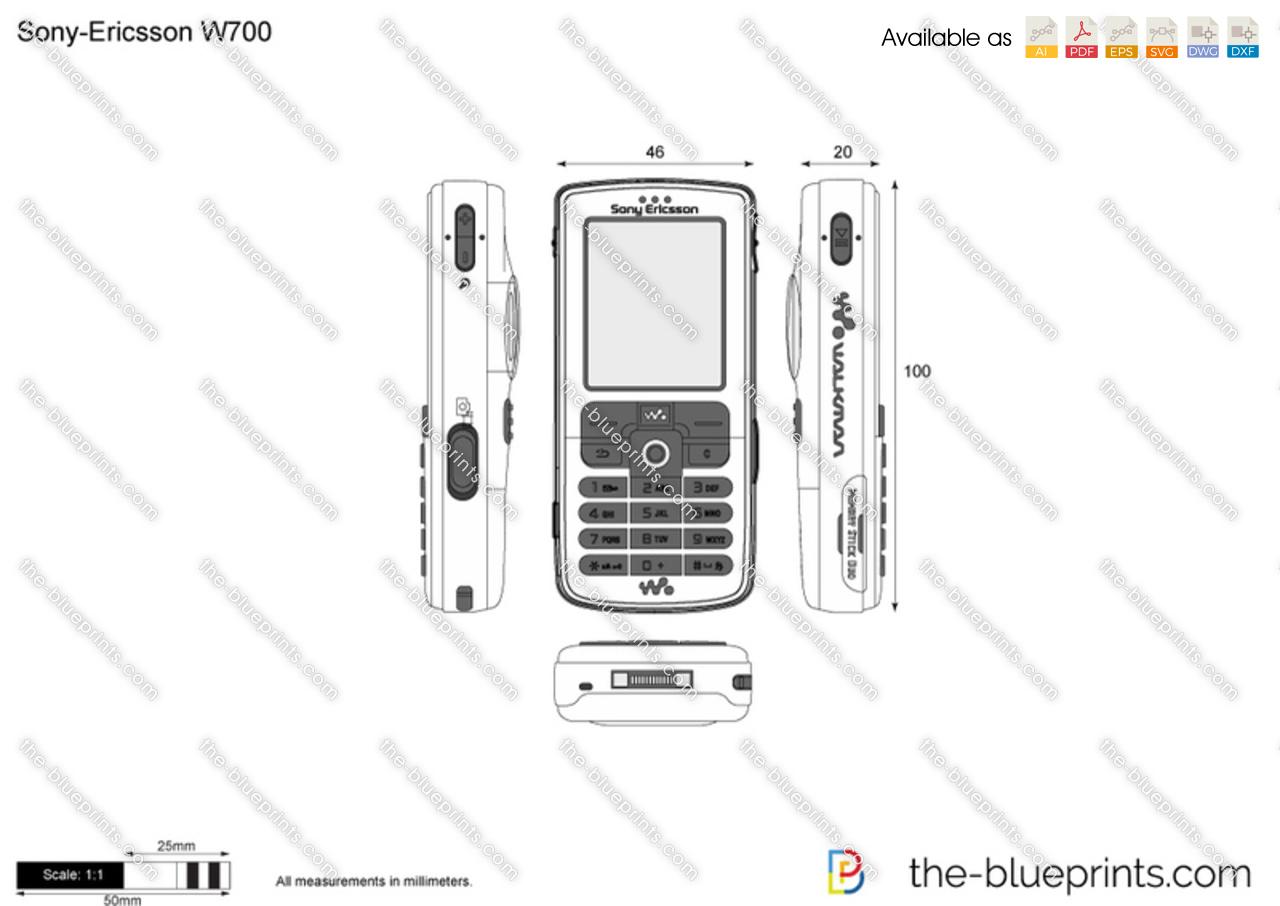 Sony-Ericsson W700