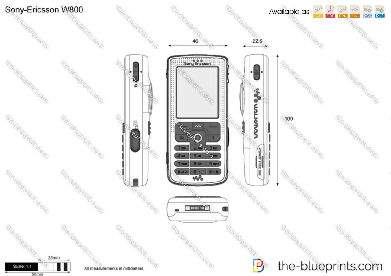 Sony-Ericsson W800