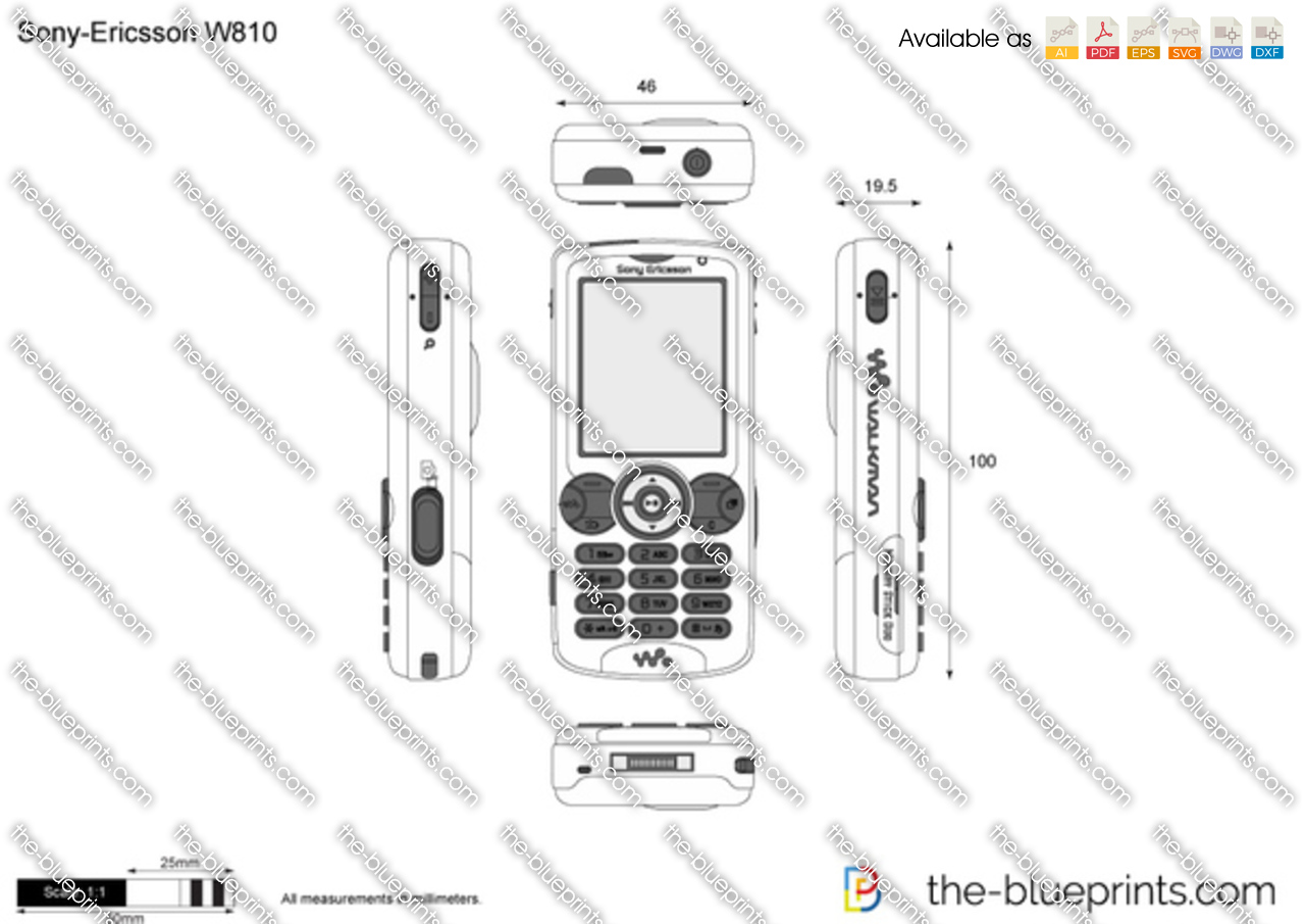 Sony-Ericsson W810
