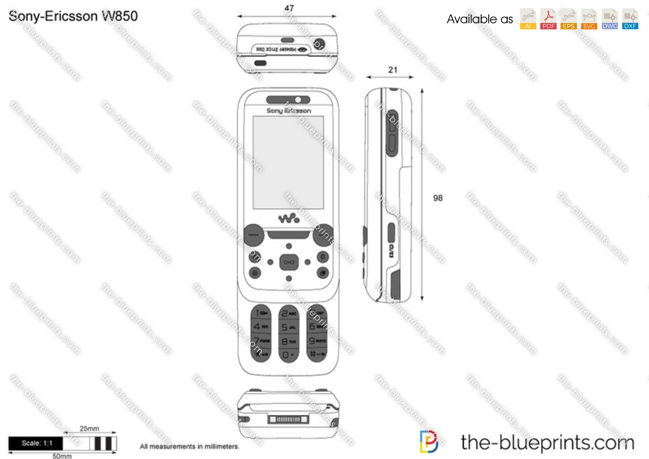 Sony-Ericsson W850