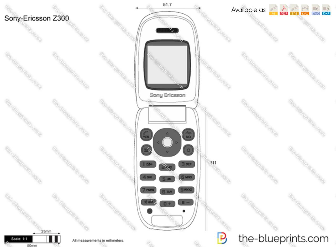 Sony-Ericsson Z300