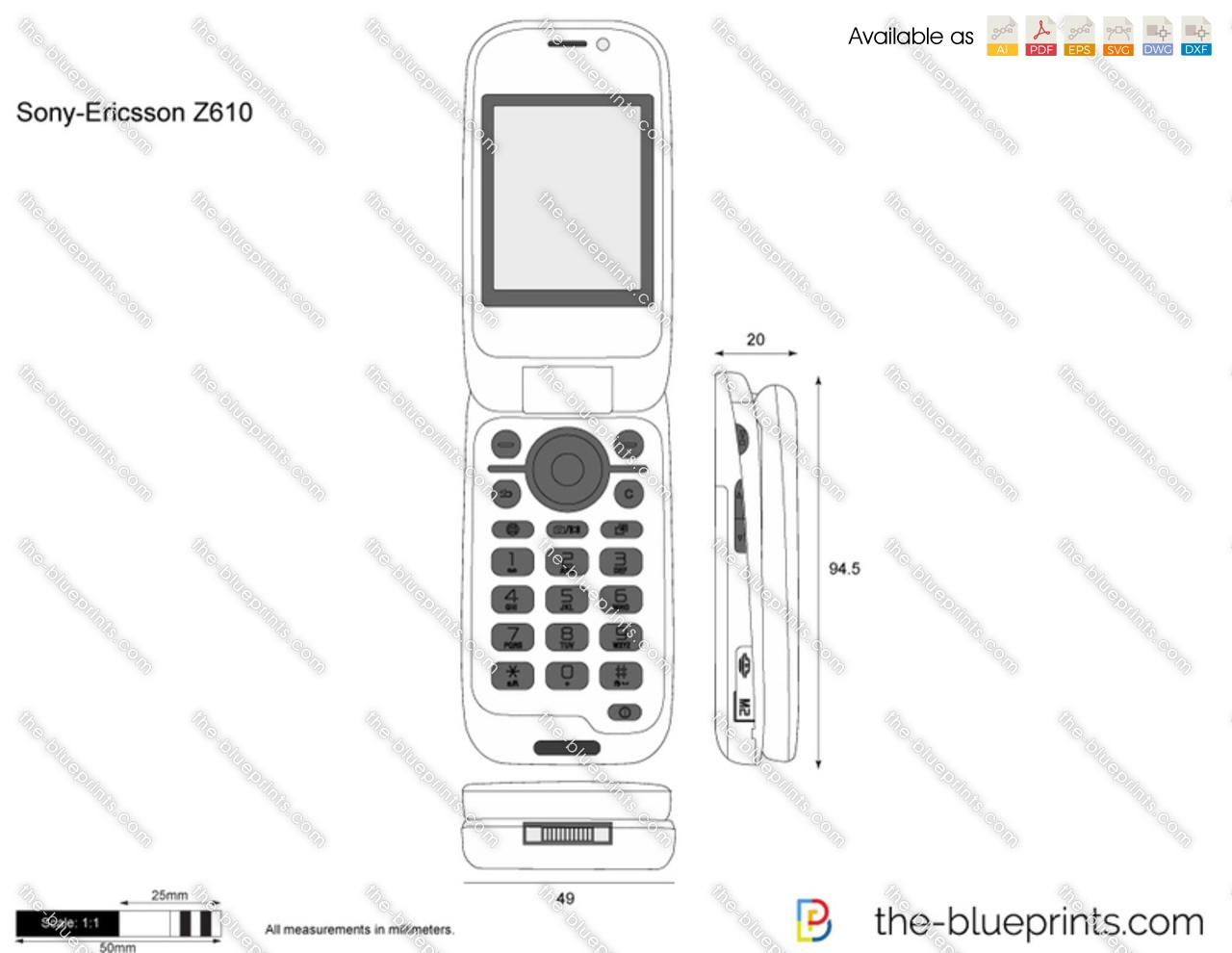 Sony-Ericsson Z610