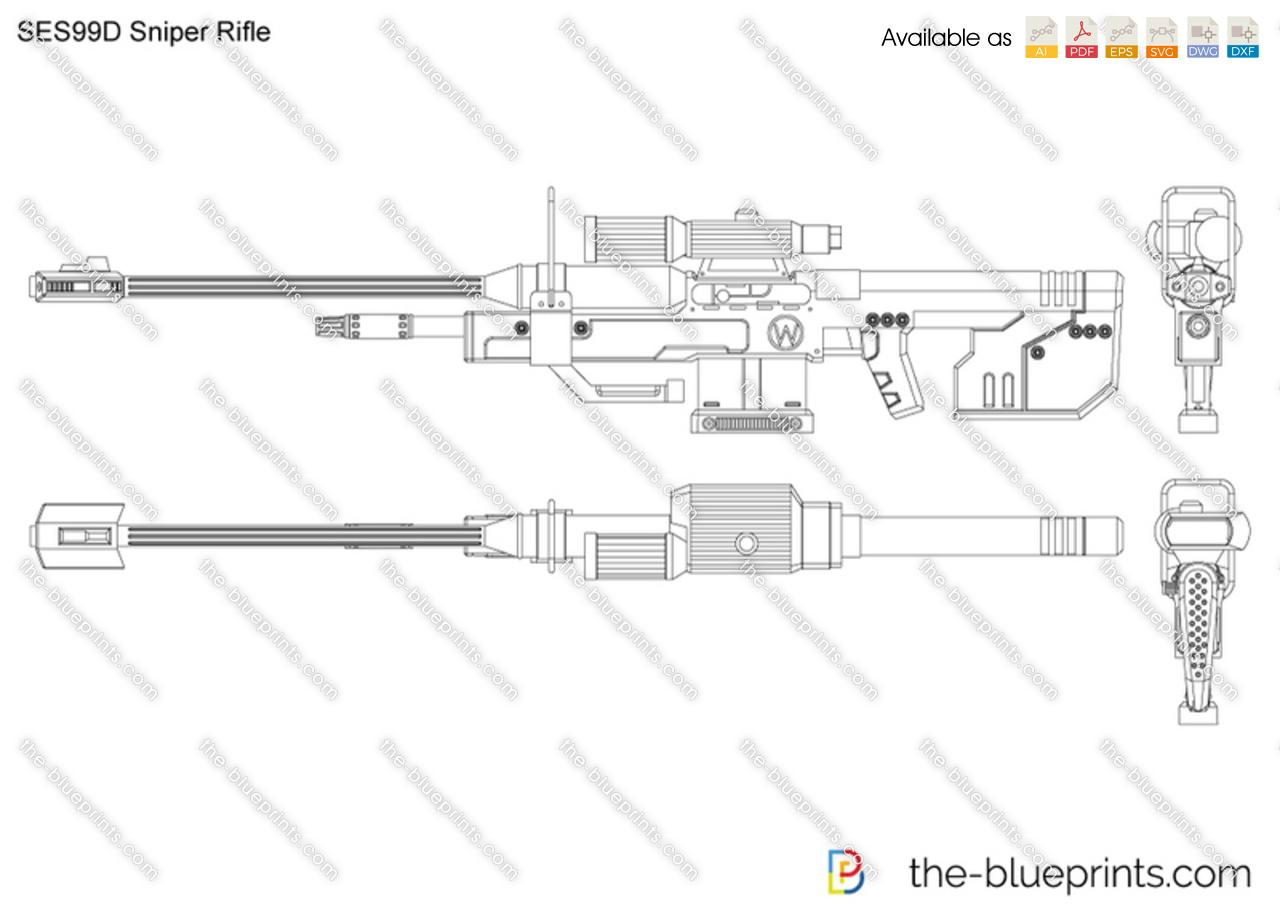 SRS99D Sniper Rifle