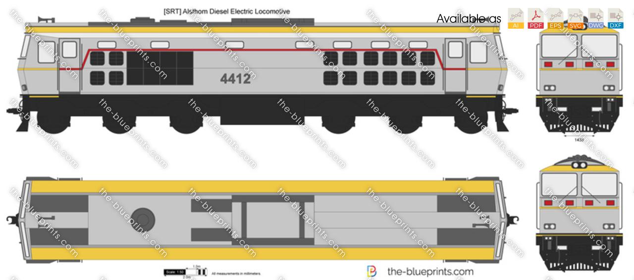 [SRT] Alsthom Diesel Electric Locomotive