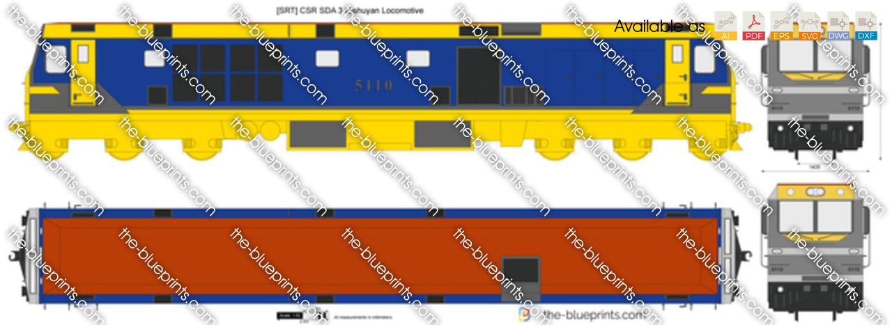 [SRT] CSR SDA 3 Qishuyan Locomotive