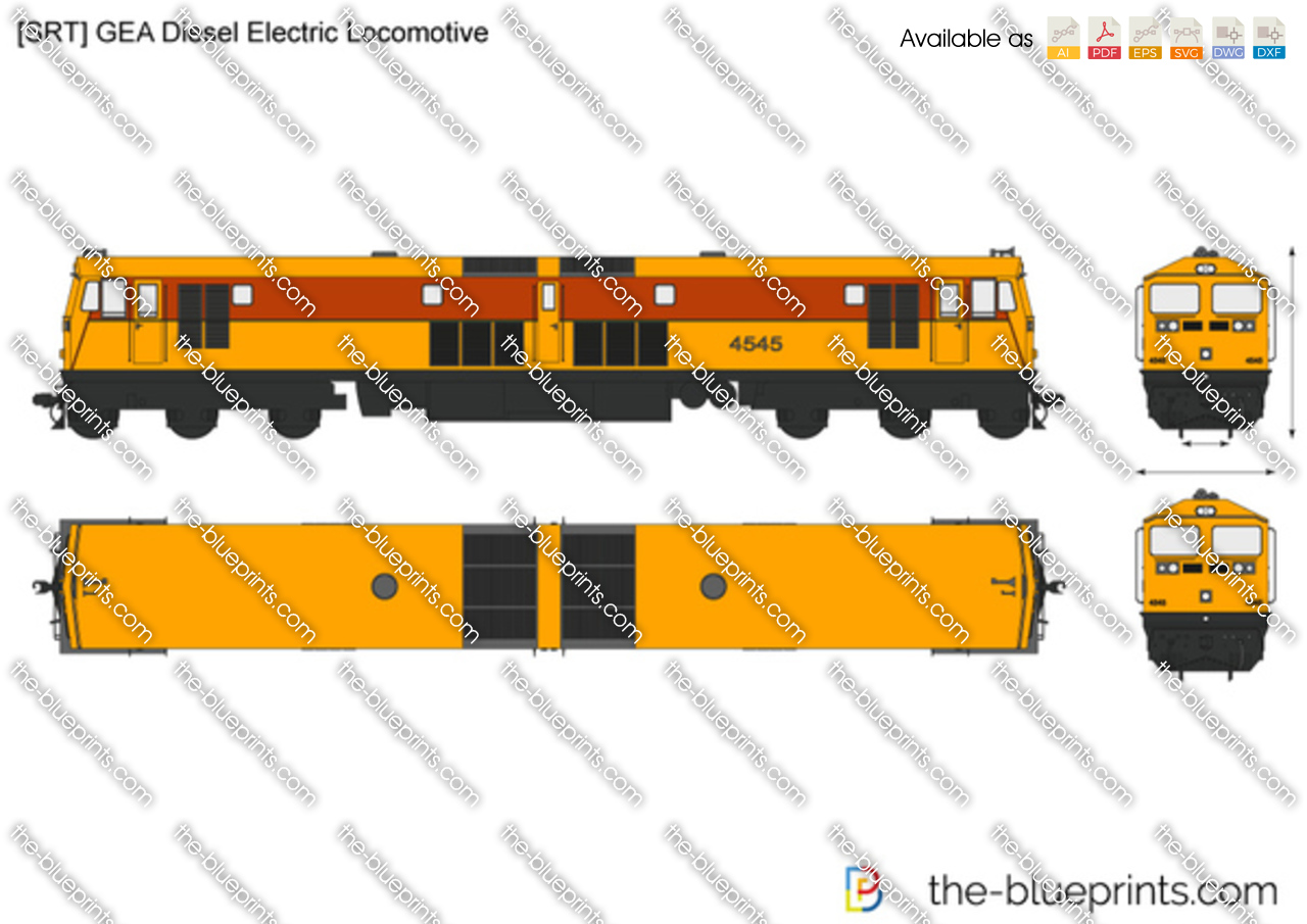 [SRT] GEA Diesel Electric Locomotive