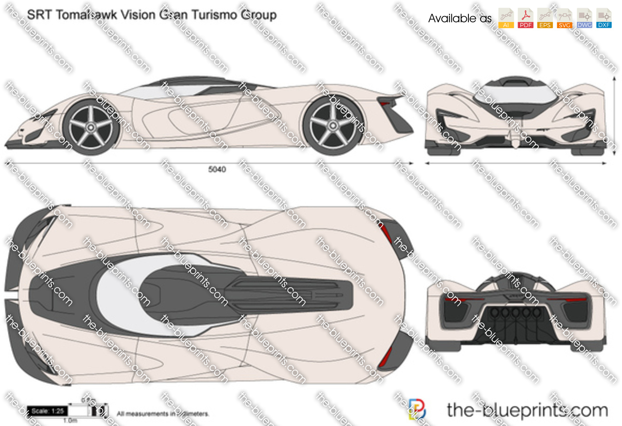 SRT Tomahawk Vision Gran Turismo Group
