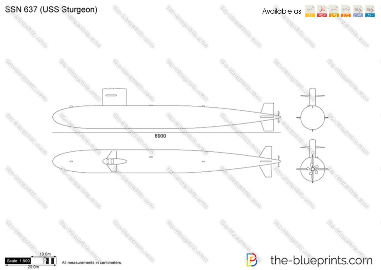 SSN 637 (USS Sturgeon)