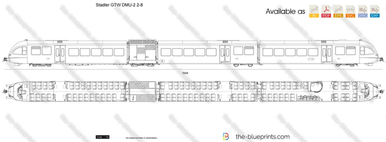 Stadler GTW DMU-2 2-8