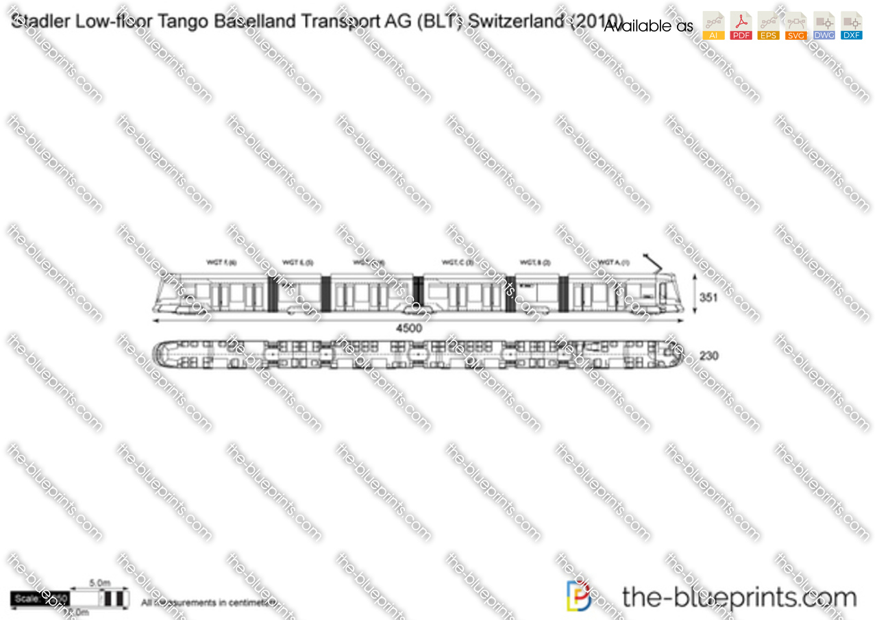 Stadler Low-floor Tango Baselland Transport AG (BLT) Switzerland